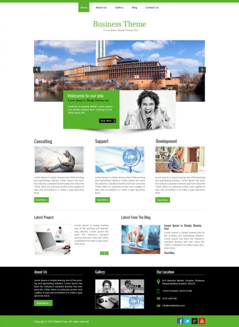 HTML-Business Theme