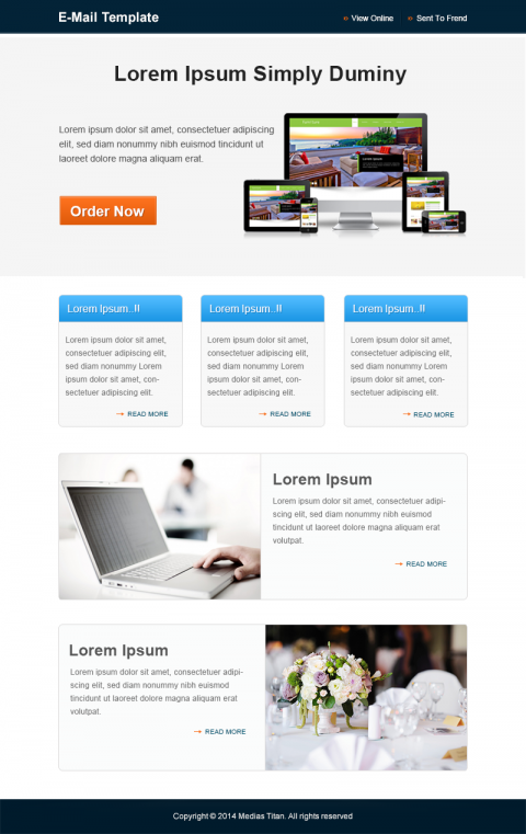 Email Design-Template 4