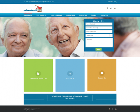 WordPress-OldHomeHealth