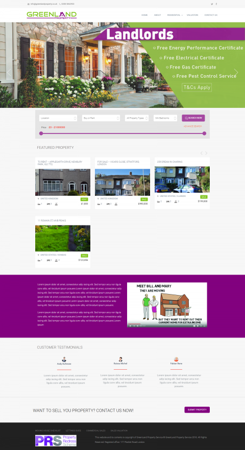 WordPress-GreenProperty